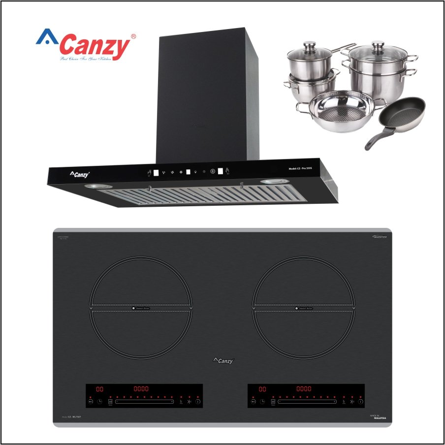 COMBO BẾP TỪ CANZY CZ ML756T 3