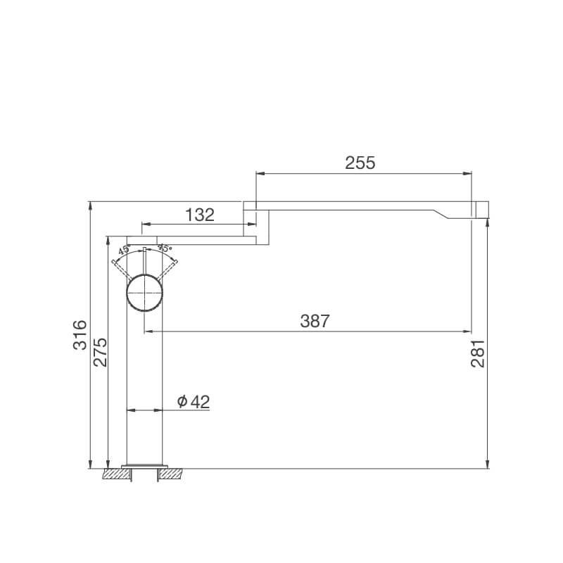 Vòi Rửa Chén NL Inox 304 Malloca K060-S 11