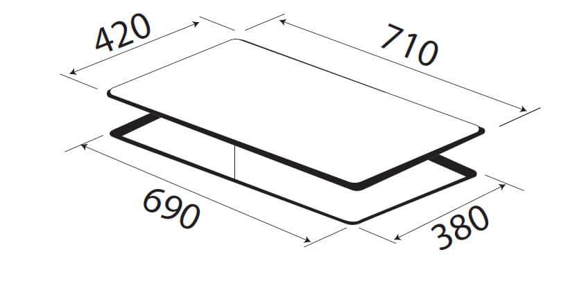 Bếp 2 từ KAFF KF-IH202II 5