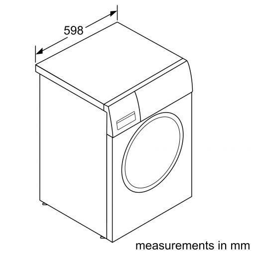 Máy Giặt Cửa Trước Bosch HMH.WAN28108GB Serie 4 5