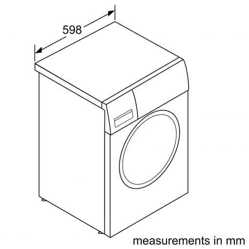 Máy Giặt Cửa Trước Home Connect/I-Dos Bosch HMH.WAT286H8SG Serie 8 5