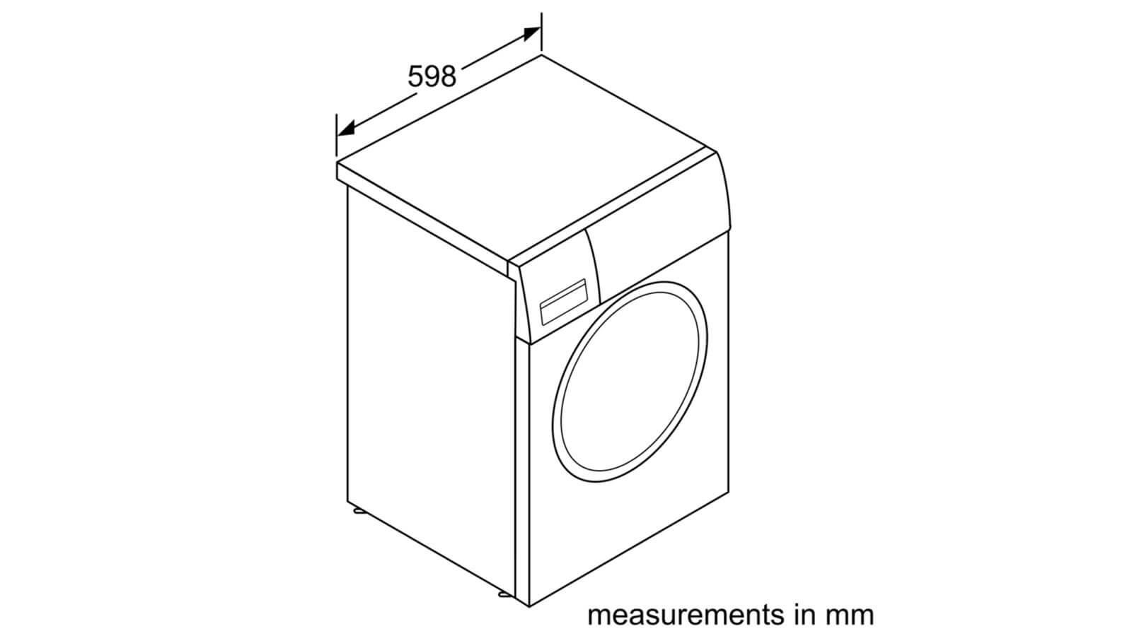 Máy Giặt Cửa Trước Bosch HMH.WAW32640EU Serie 8 6