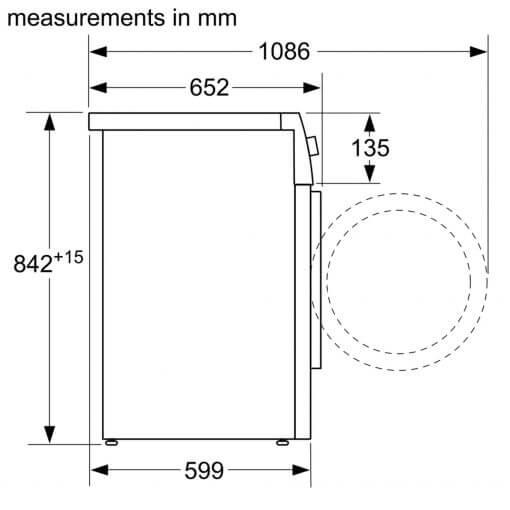 Máy Sấy Bosch HMH.WTR85V00SG Serie 4 5