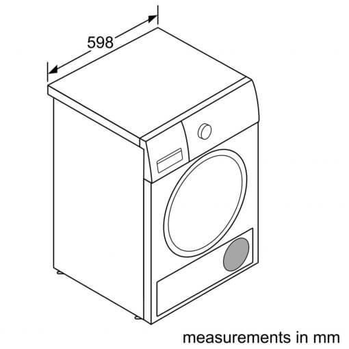 Máy Sấy Bosch HMH.WTR85V00SG Serie 4 6