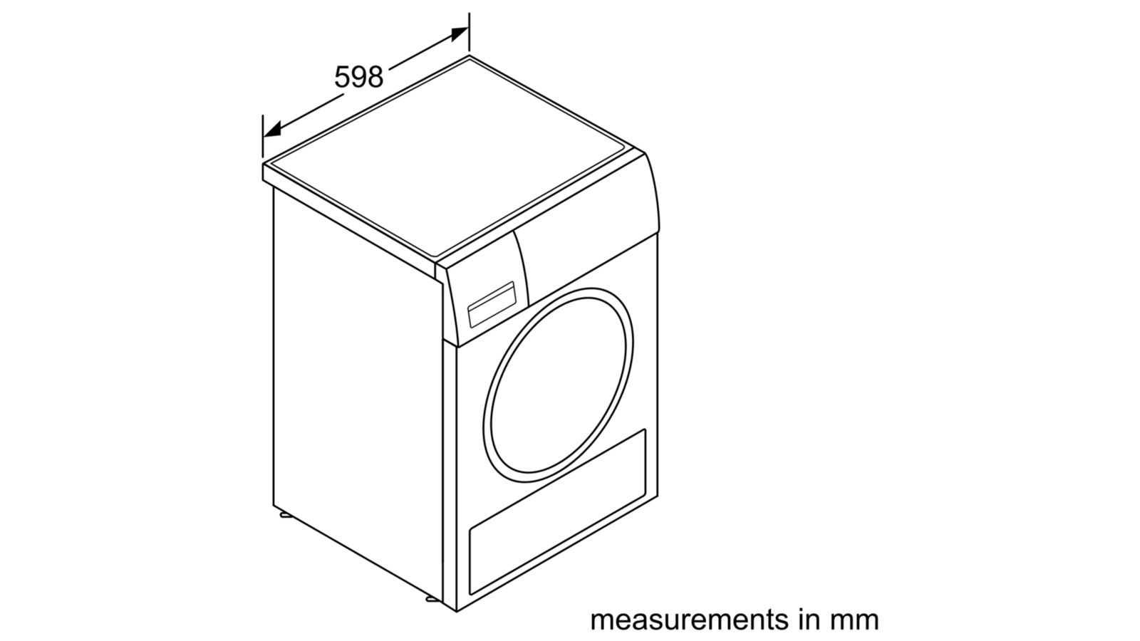 Máy Sấy Cửa Trước Bosch HMH.WTH85200GB Serie 4 6