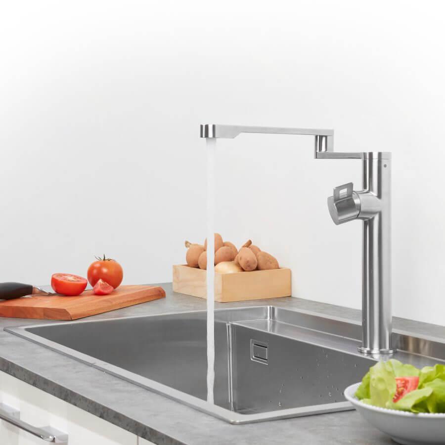 Vòi Rửa Chén NL Inox 304 Malloca K060-S 8